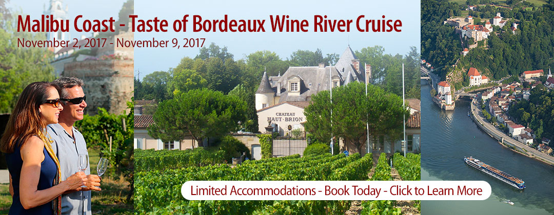 Malibu Coast Wine River Cruise 2017