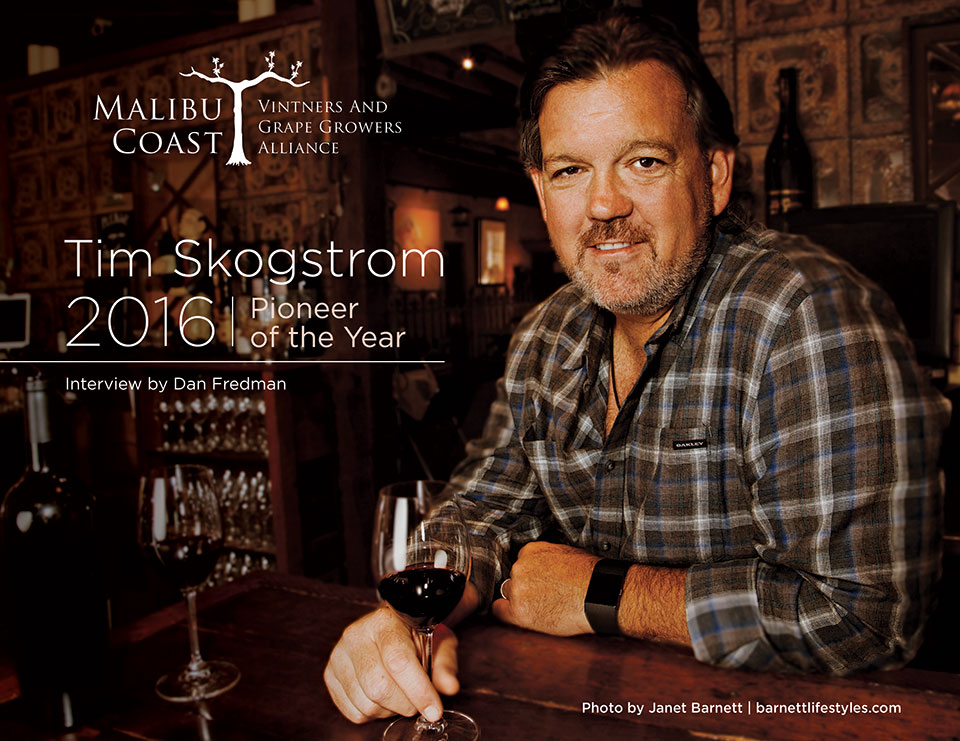 Tim Skogstrom - 2016 Pioneer of the Year